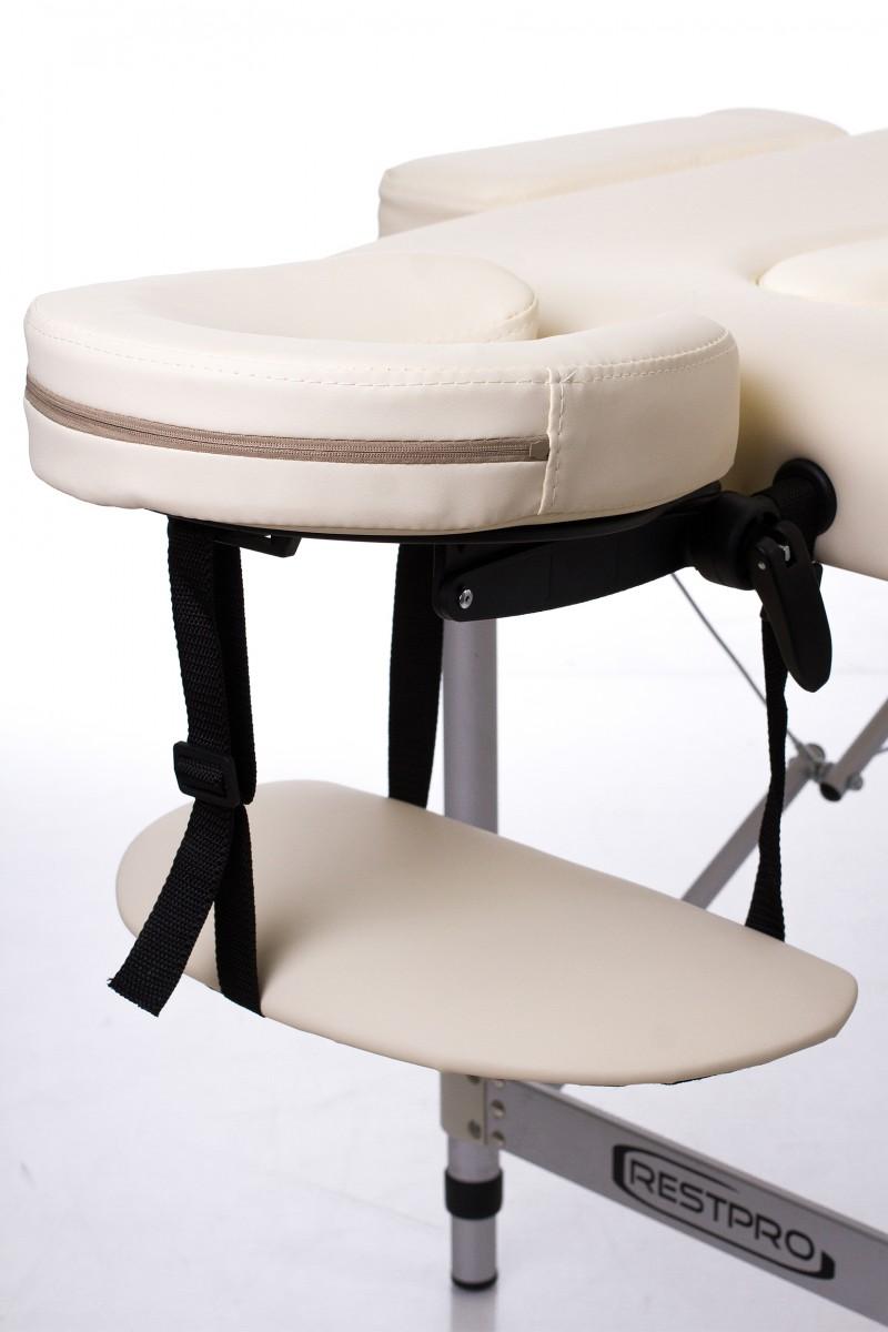 RESTPRO® ALU 2 (S) Cream sulankstomas masažo stalas