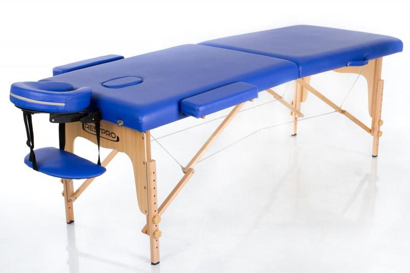 RESTPRO® Classic-2 Blue sulankstomas masažo stalas