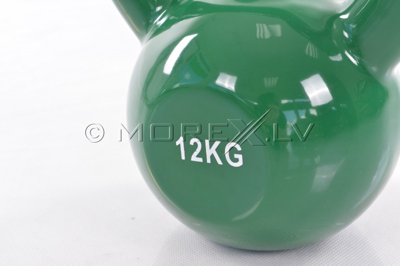Metal Kettlebell With Vinyl Coating 12 kg
