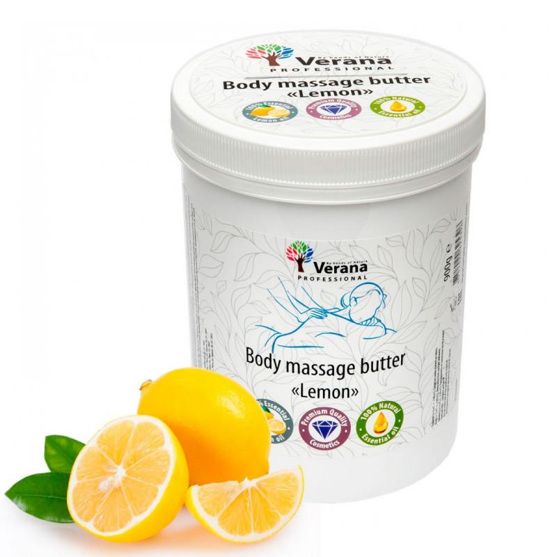 Body massage butter Verana Lemon 900 gr