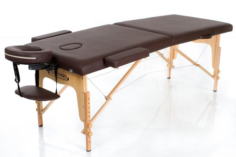 RESTPRO® Classic-2 Coffee sulankstomas masažo stalas