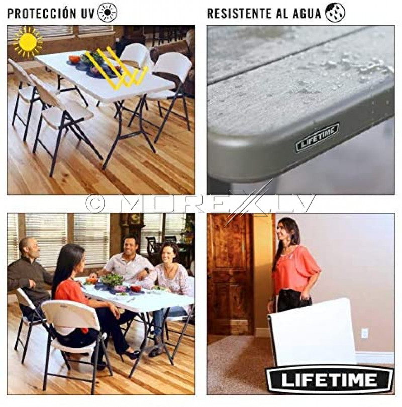 Lifetime 80471 Sulankstomas staliukas 183x76 cm