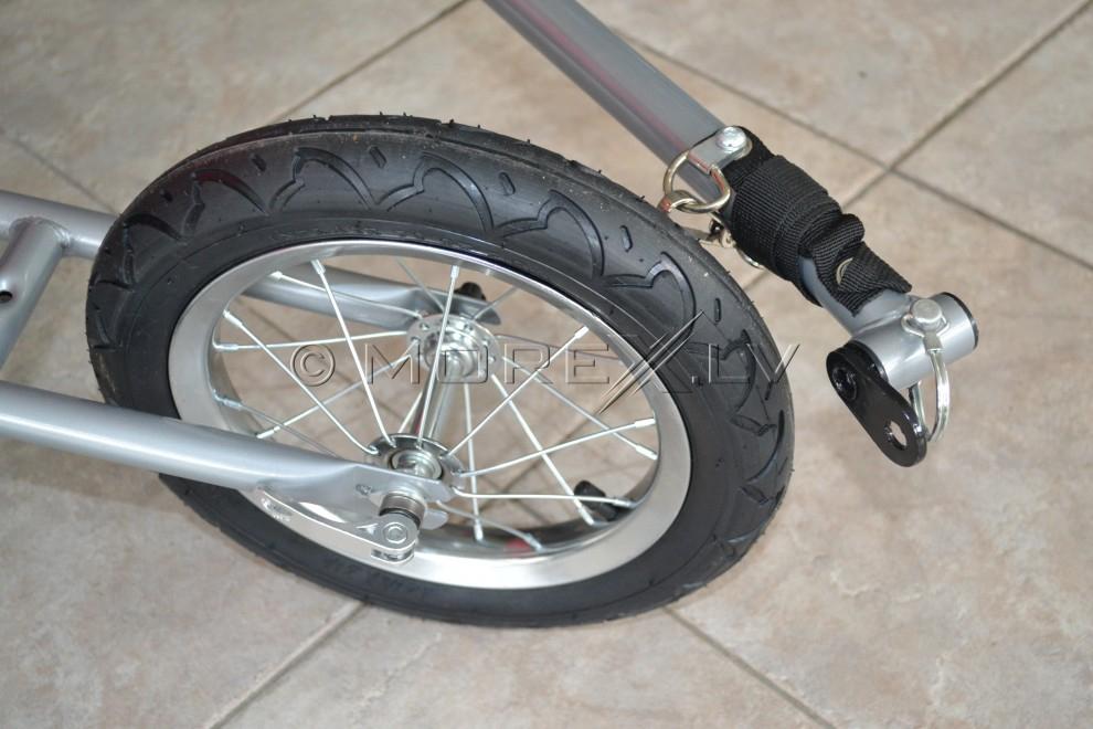 Dviračio priekaba dviračiui