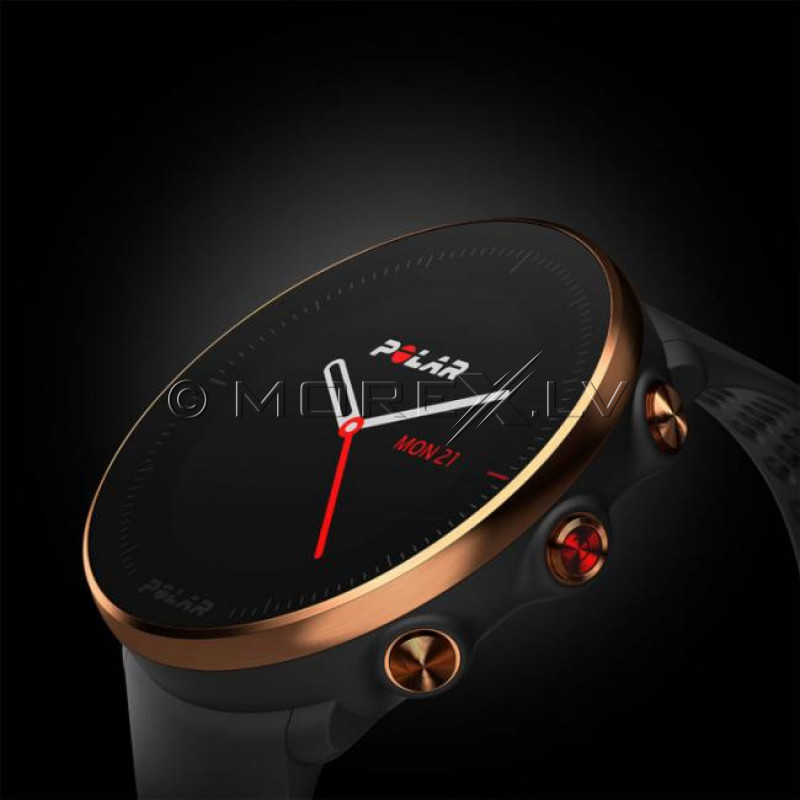 Sportinius laikrodžius POLAR VANTAGE M BLACK-COPPER, M/L