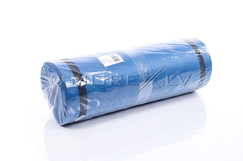 Gimnastikos yoga fitness pilates kilimėlis 179х1,5х60 cm, mėlynas