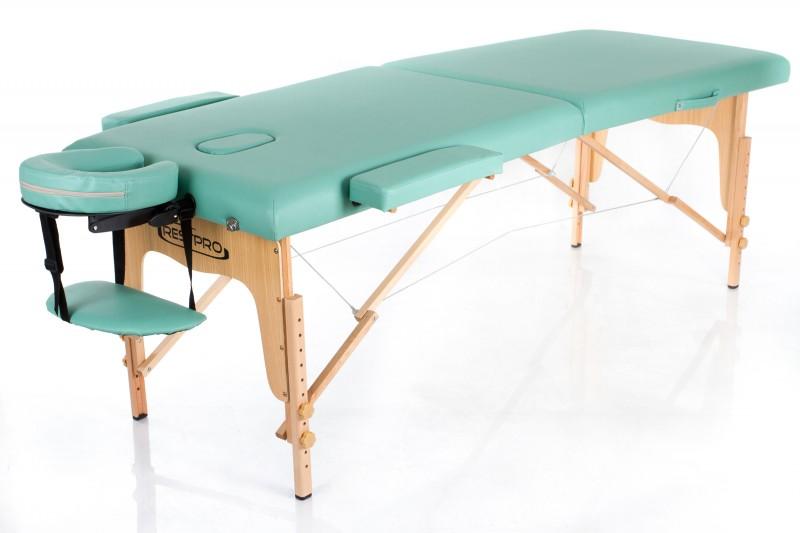 RESTPRO® Classic-2 Blue-green sulankstomas masažo stalas