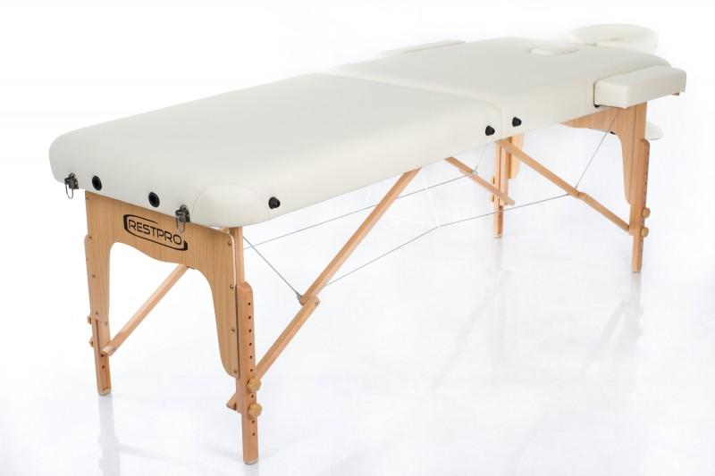 RESTPRO® VIP 2 CREAM sulankstomas masažo stalas