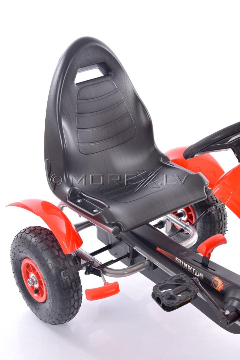 Velokart (Velomobile) Go-Kart F618 Red (4-10 years)
