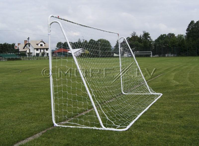 Folding football goal 365x182x121 cm