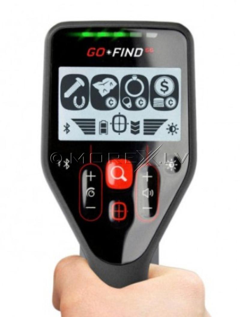 Metalo Detektoriai Minelab GO-FIND GoFind 66 + PRO-FIND 20 PinPointer