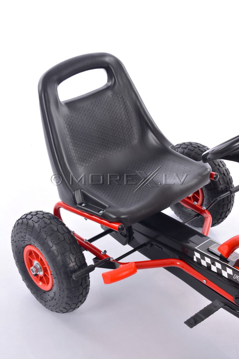 Velokart (Velomobile) Go-Kart A-15 Red (3-8 years)