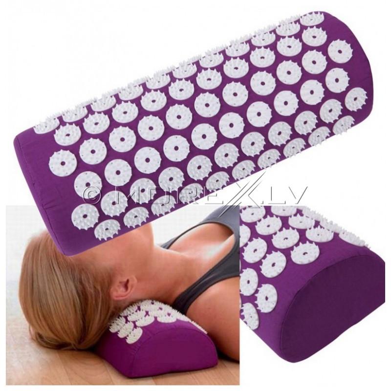 Akupunktūrinė masažinė pagalvė, violetinė