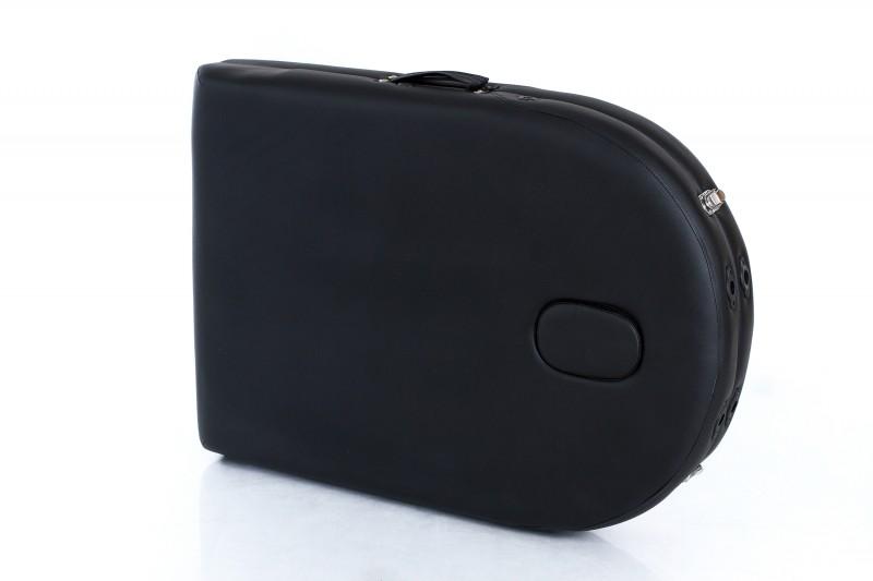 RESTPRO® Classic Oval 2 Black sulankstomas masažo stalas