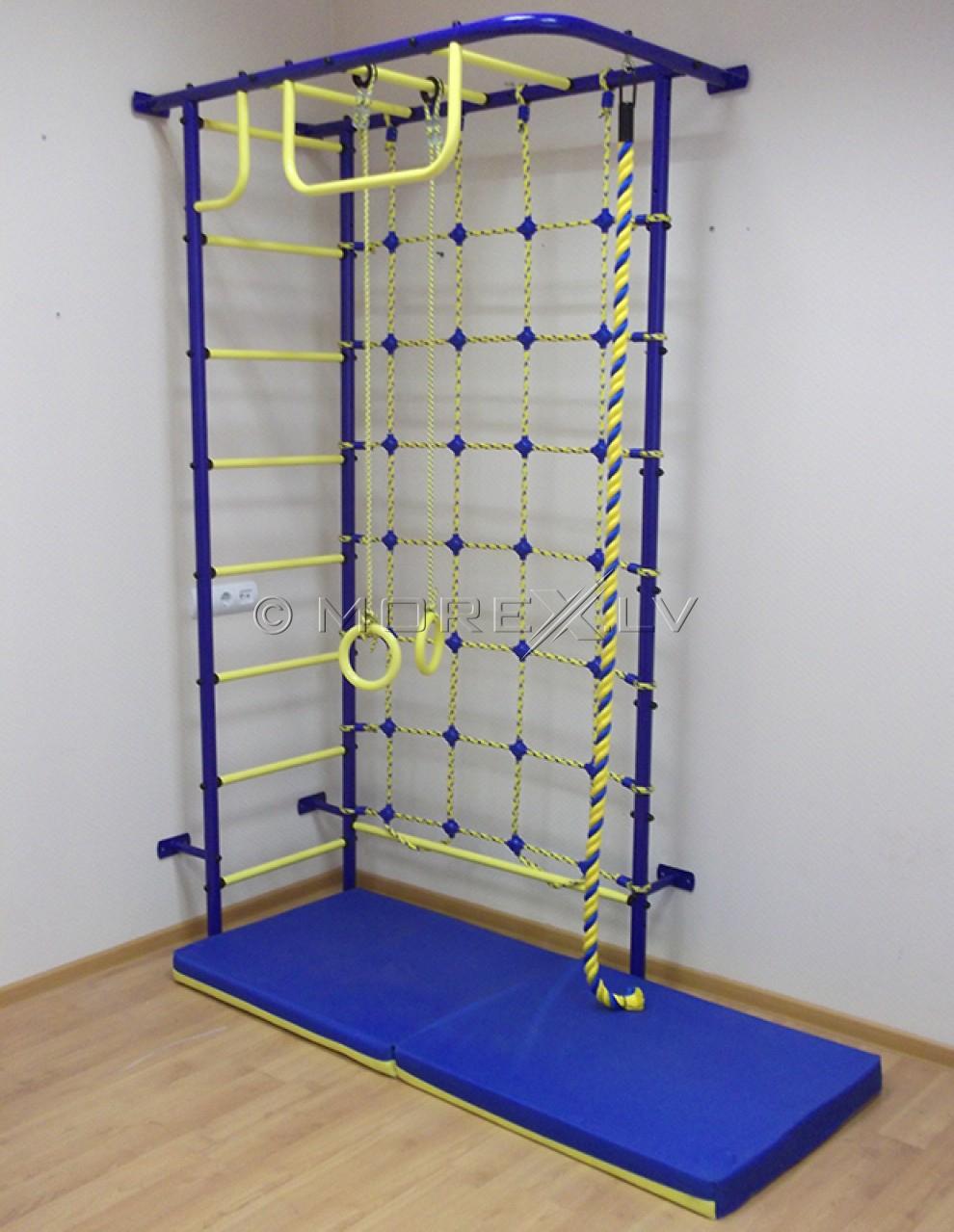 Švediškos sienelės Pioner-8 blue-yellow (swedish wall)