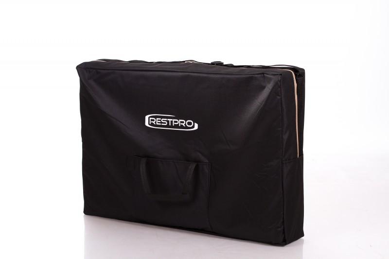 RESTPRO® ALU 2 M Black Massage Table - Massage Bolsters