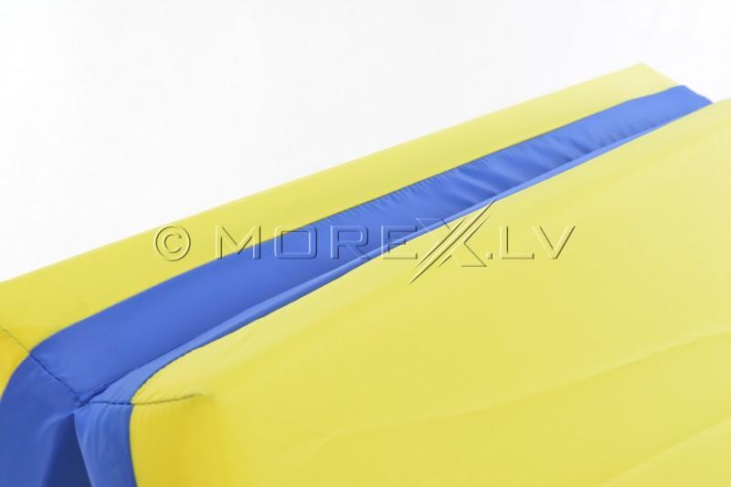 Safety mat 80x120cm blue-yellow