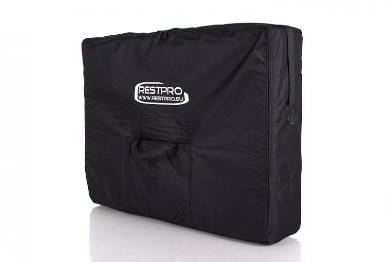 RESTPRO® ALU 2 (L) Black sulankstomas masažo stalas