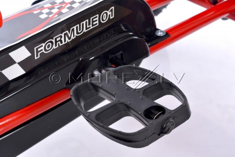 Velokart (Velomobile) Go-Kart A-15 Red (3-8 years)