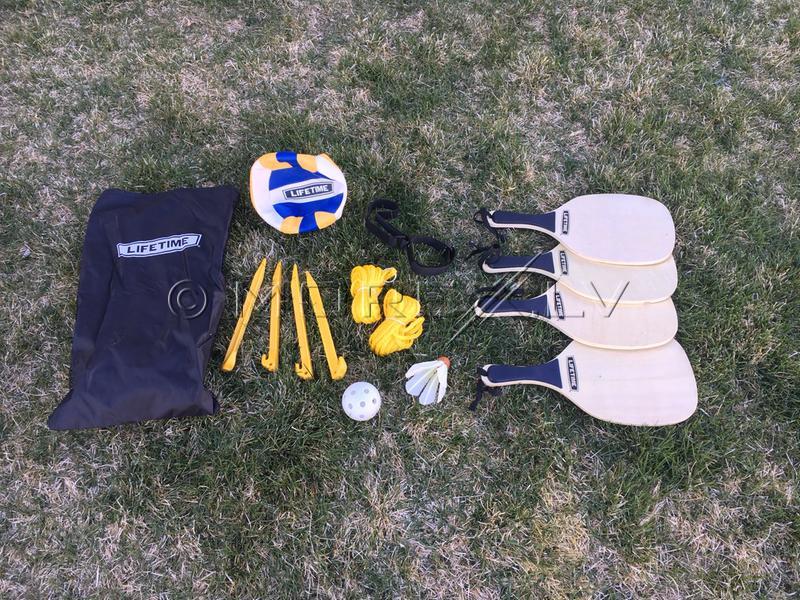 Lifetime Rinkinys tinkliniui, badmintonui, piklbolui, 90541