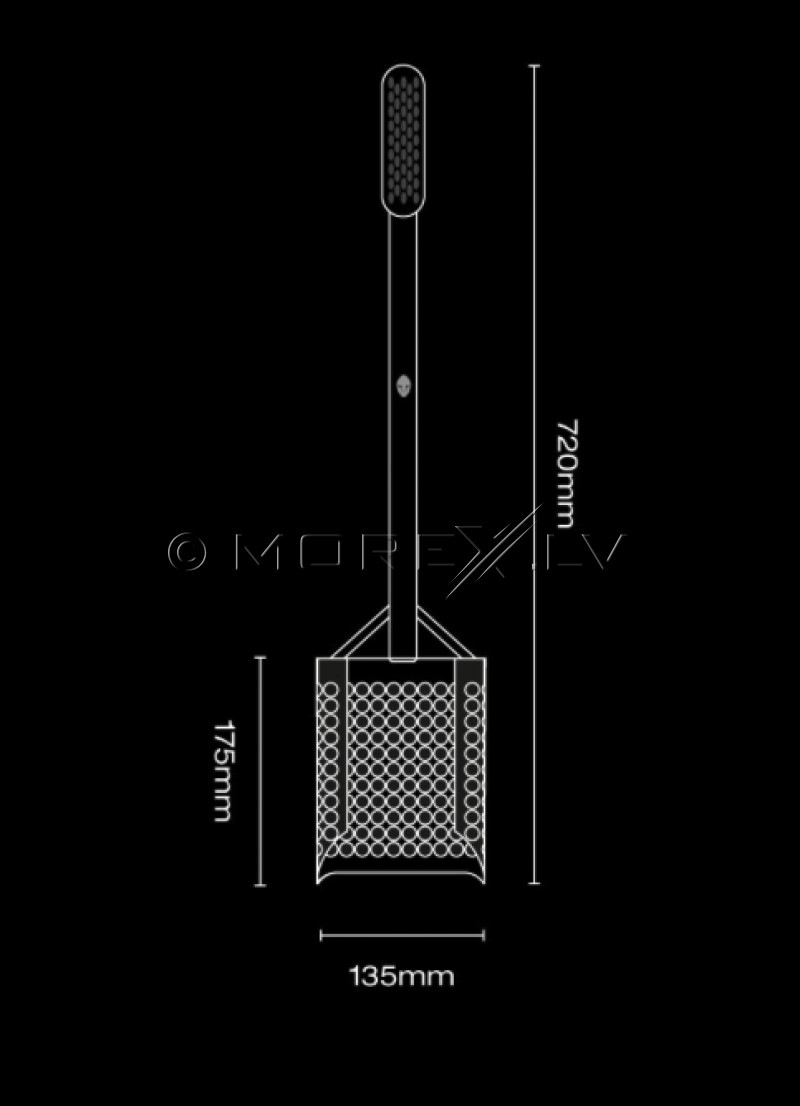 Shovel Extended Black Ada Sandscoop (Black)