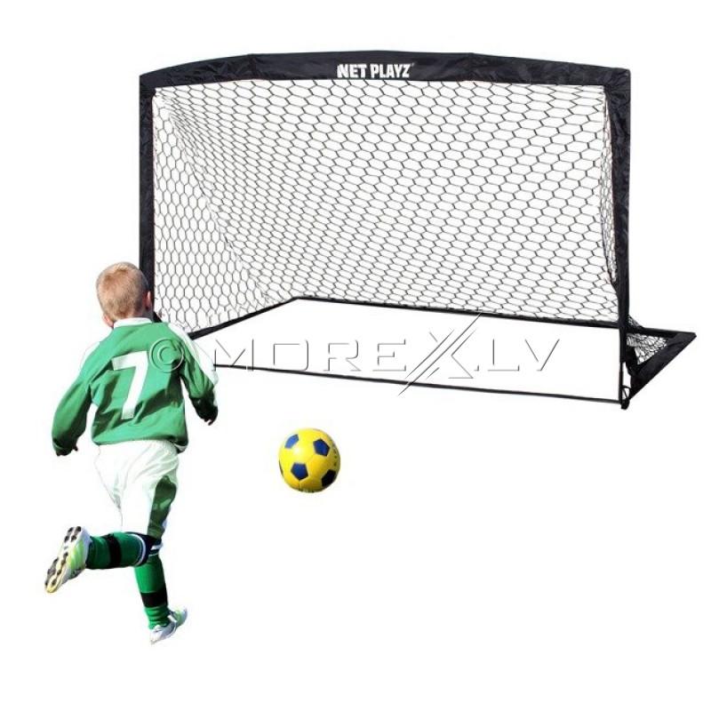 Futbolo vartai su tinklu, 360х180х100 cm