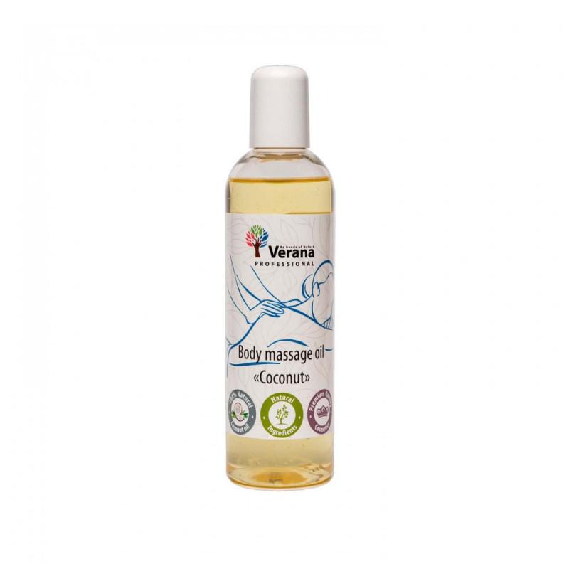 Body massage oil Verana Professional, Coconut 250ml
