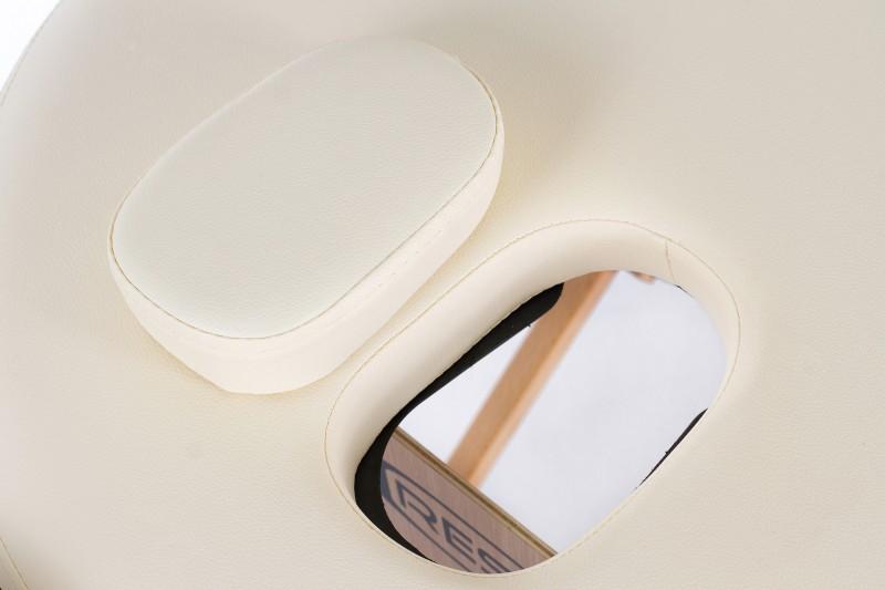 RESTPRO® Classic Oval 2 Cream sulankstomas masažo stalas