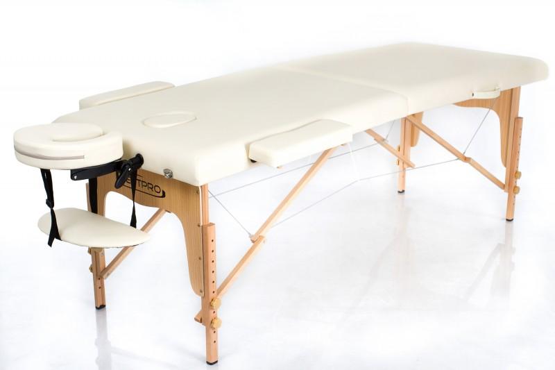 RESTPRO® Classic-2 Cream sulankstomas masažo stalas
