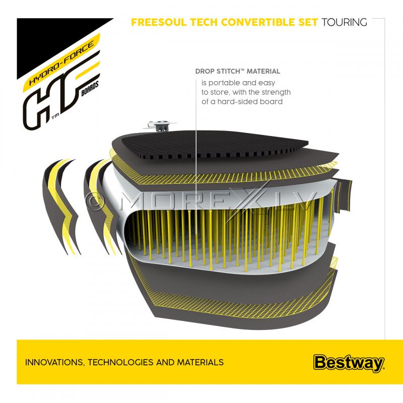 Irklentė Bestway Freesoul Tech Convertible Set, 340x89x15 cm, 65310