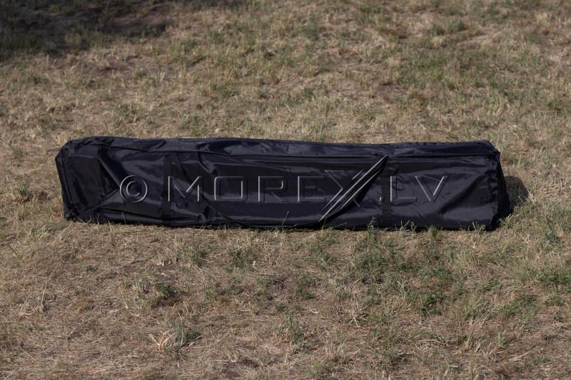 Pop Up sulankstoma palapinė 2.92x2.92 m, su sienomis ir stogu, juoda, serija H juoda, plienas (palapinė, paviljonas, tentas)