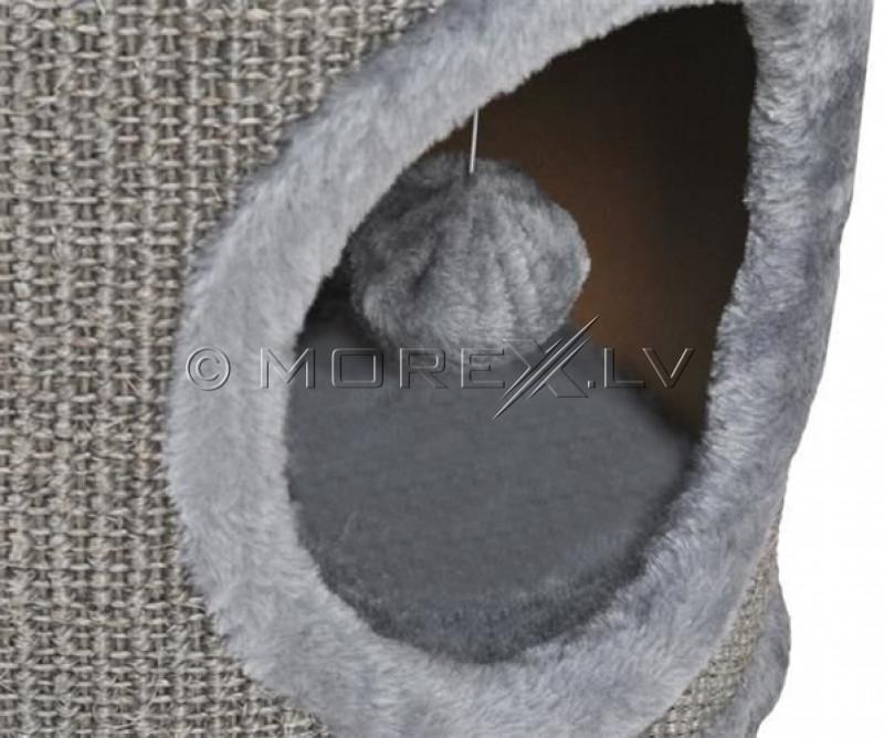 Draskyklė-namelis katėms CAT005P-2, 70 cm, pilka