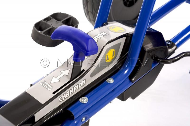 Velokart (Velomobile) Go-Kart A-18 Blue (5-12 years)