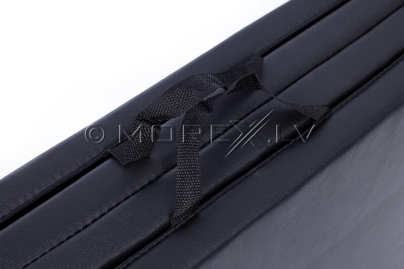 Sulankstomas sportinis kilimėlis 122x244cm, juoda