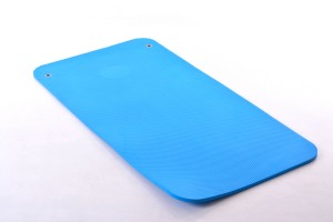 Спортивный коврик для йоги пилатеса аэробики 120x60x1.35см