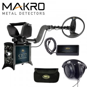 Metalo Detektoriai CF77 Coin Finder Standard Package