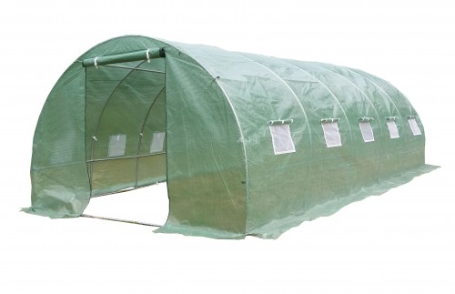 Arkinis šiltnamis su plėvele 24 m² (3х8 m)