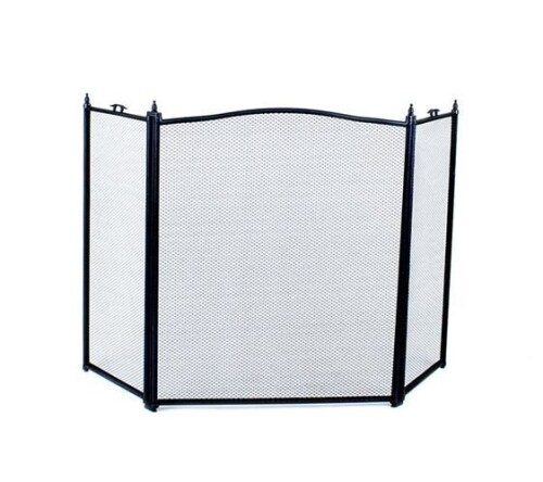 Fireplace Protection Screen, black (00000833)