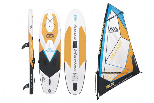 "SUP board Aqua Marina BLADE 10'10"" with sail, 330x80x15 cm"