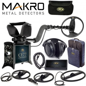 Metalo Detektoriai CF77 Coin Finder Pro Package