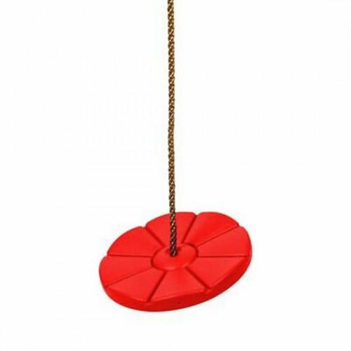 """Plastmasinės diskinės supynės """"Blynas"""" (Tarzankė)  Ø28 cm, КВТ, raudonos"""