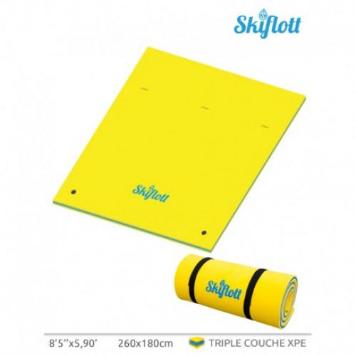 Plaukiojantis vandens kilimėlis SKIFLOTT-M 260x180х3.5 cm (SKIFLOTT-M)
