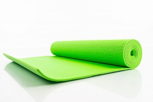 Yoga pilates exercise sport mat 173х61х0.5 сm green