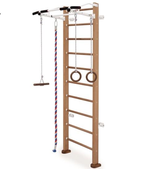"""Medinė gimnastikos (švediškoji) sienelė  Karusel """"Adler"""", Smėlio, 00178"""