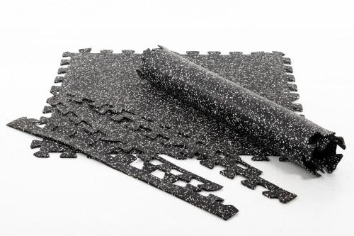 Rubber tile Puzzle for gyms 100x100 cm 1 pcs