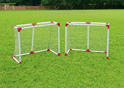 Dviejų futbolo vartų rinkinys JC-121A2, 108x88x54 cm
