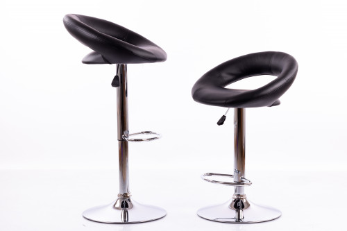 Bar chairs B02 black - 2 pcs.