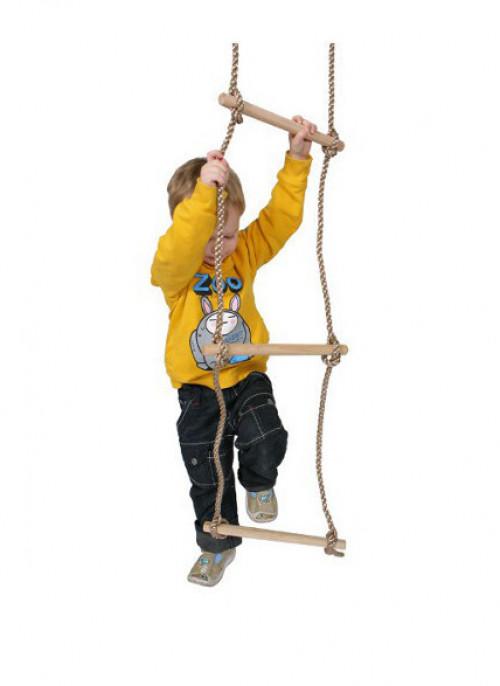 """Just-Fun virvinės kopėčios """"Medinės """", 180 cm ilgio, 5 žingsniai"""