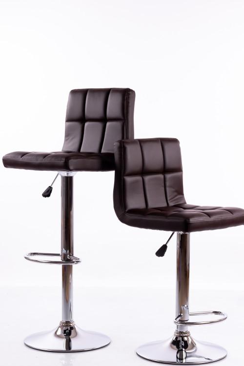 Bar chairs B06 brown 2 pcs.