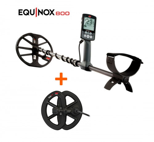 "Minelab Equinox 800 Metal Detector+Waterproof Search Coil 6"" Equinox"