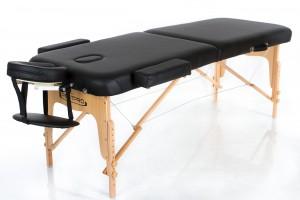 RESTPRO® VIP 2 BLACK sulankstomas masažo stalas